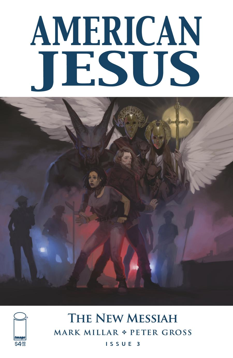 American Jesus New Messiah #3 Cover A Regular Top Secret Cover
