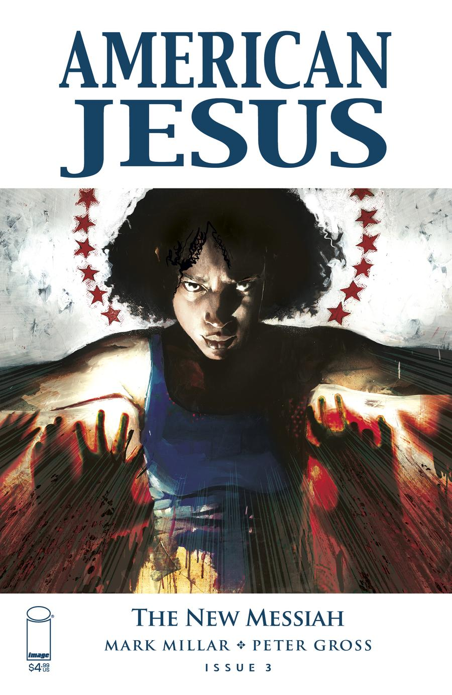 American Jesus New Messiah #3 Cover B Variant Jason Shawn Alexander Color Cover