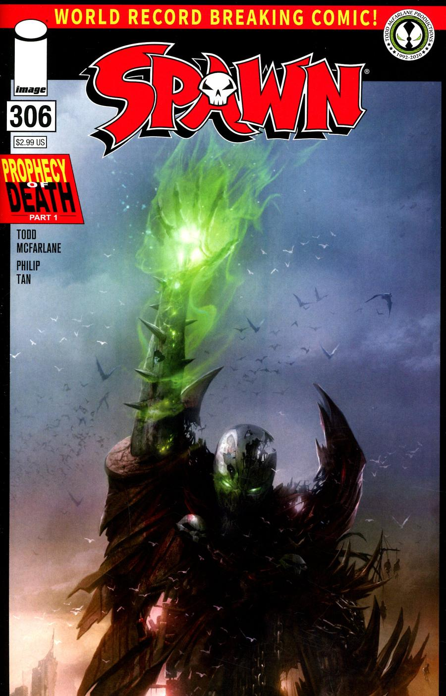 Spawn #306 Cover B Variant Francesco Mattina Cover