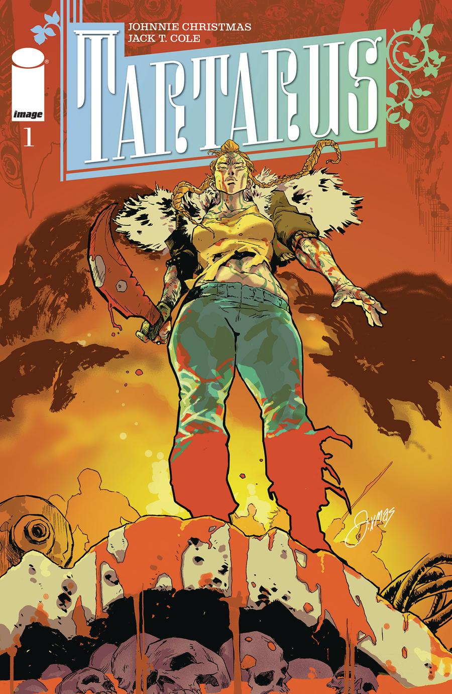 Tartarus #1 Cover B Variant Johnnie Christmas Cover