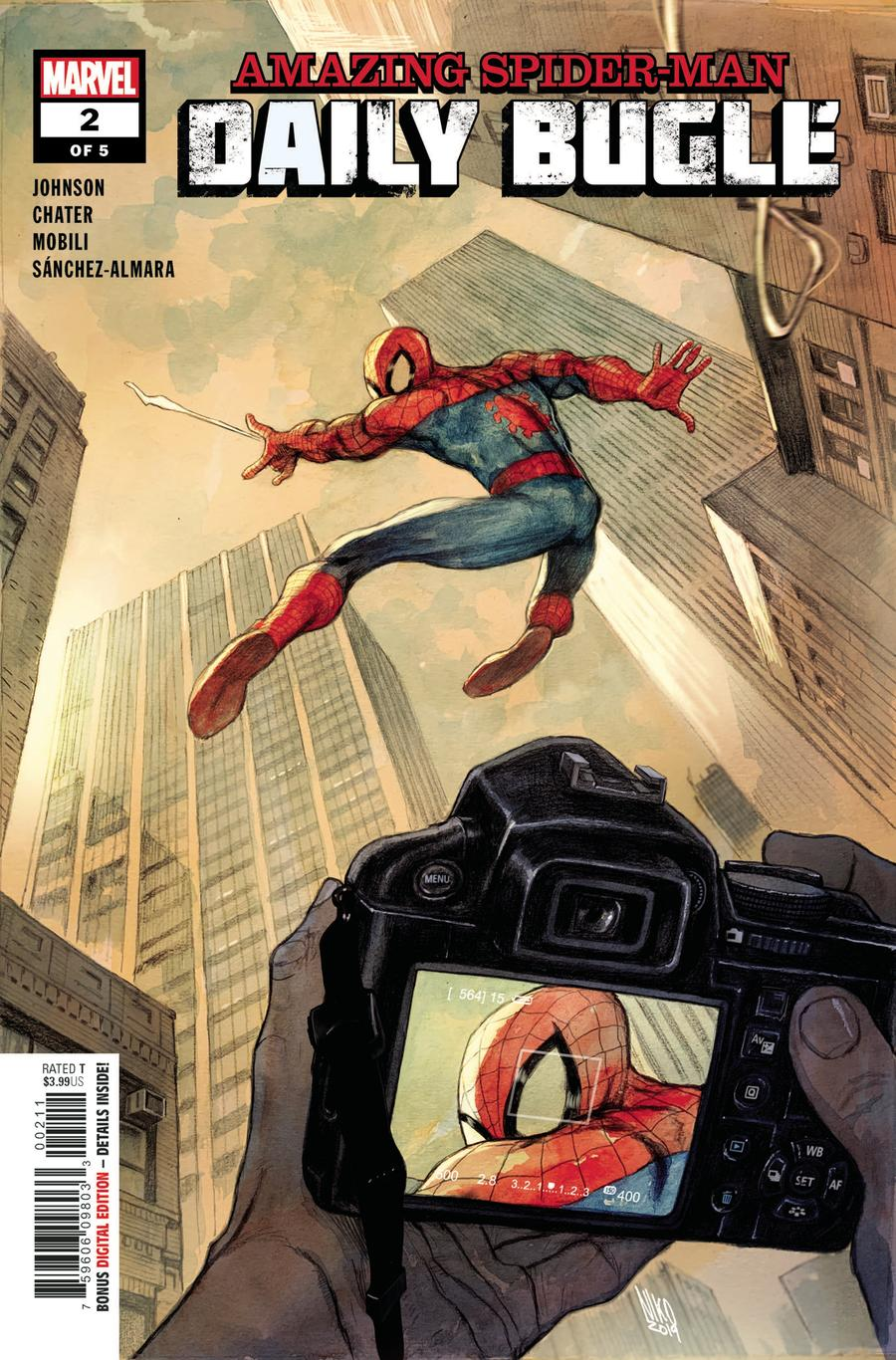 Amazing Spider-Man Daily Bugle #2 Cover A Regular Niko Henrichon Cover