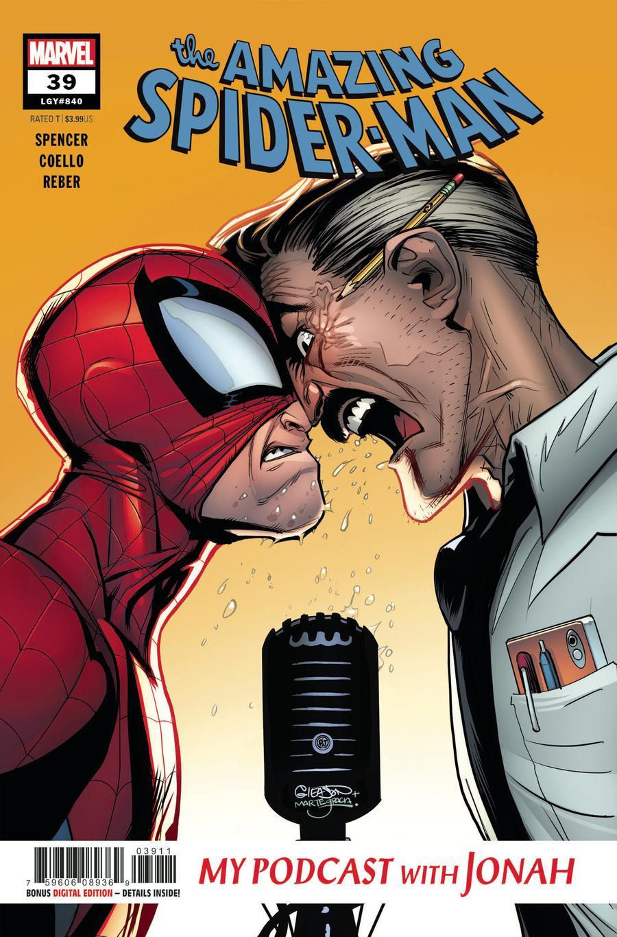 Amazing Spider-Man Vol 5 #39 Cover A Regular Patrick Gleason Cover