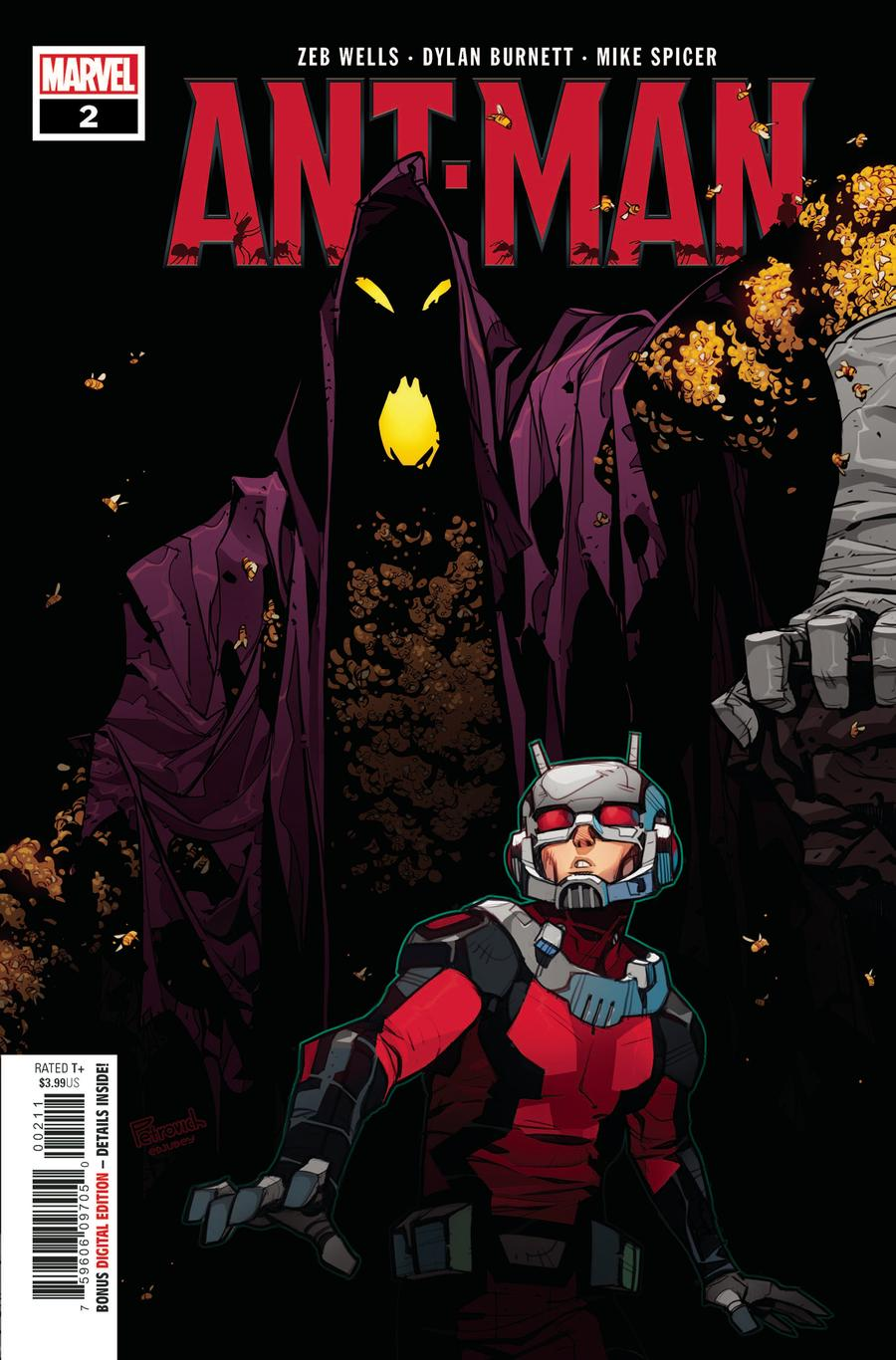 Ant-Man Vol 2 #2 Cover A Regular Eduard Petrovich Cover