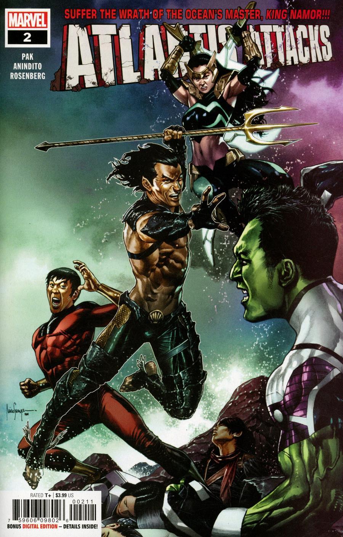 Atlantis Attacks #2 Cover A Regular Mico Suayan Cover