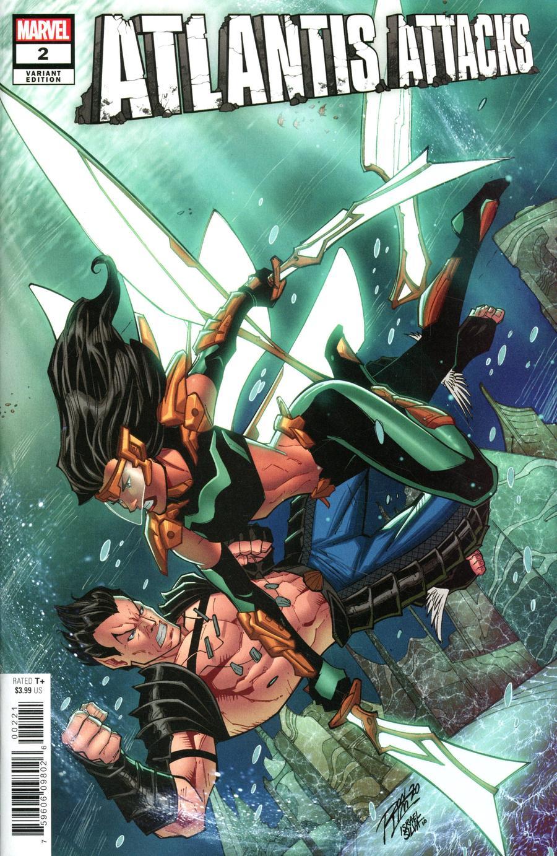 Atlantis Attacks #2 Cover C Variant Ron Lim Cover