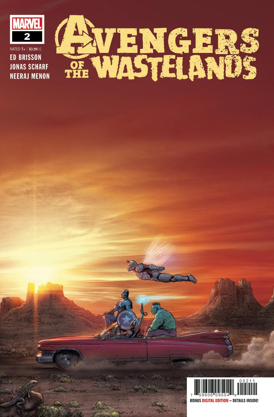 Avengers Of The Wastelands #2 Cover A Regular Juan Jose Ryp Cover