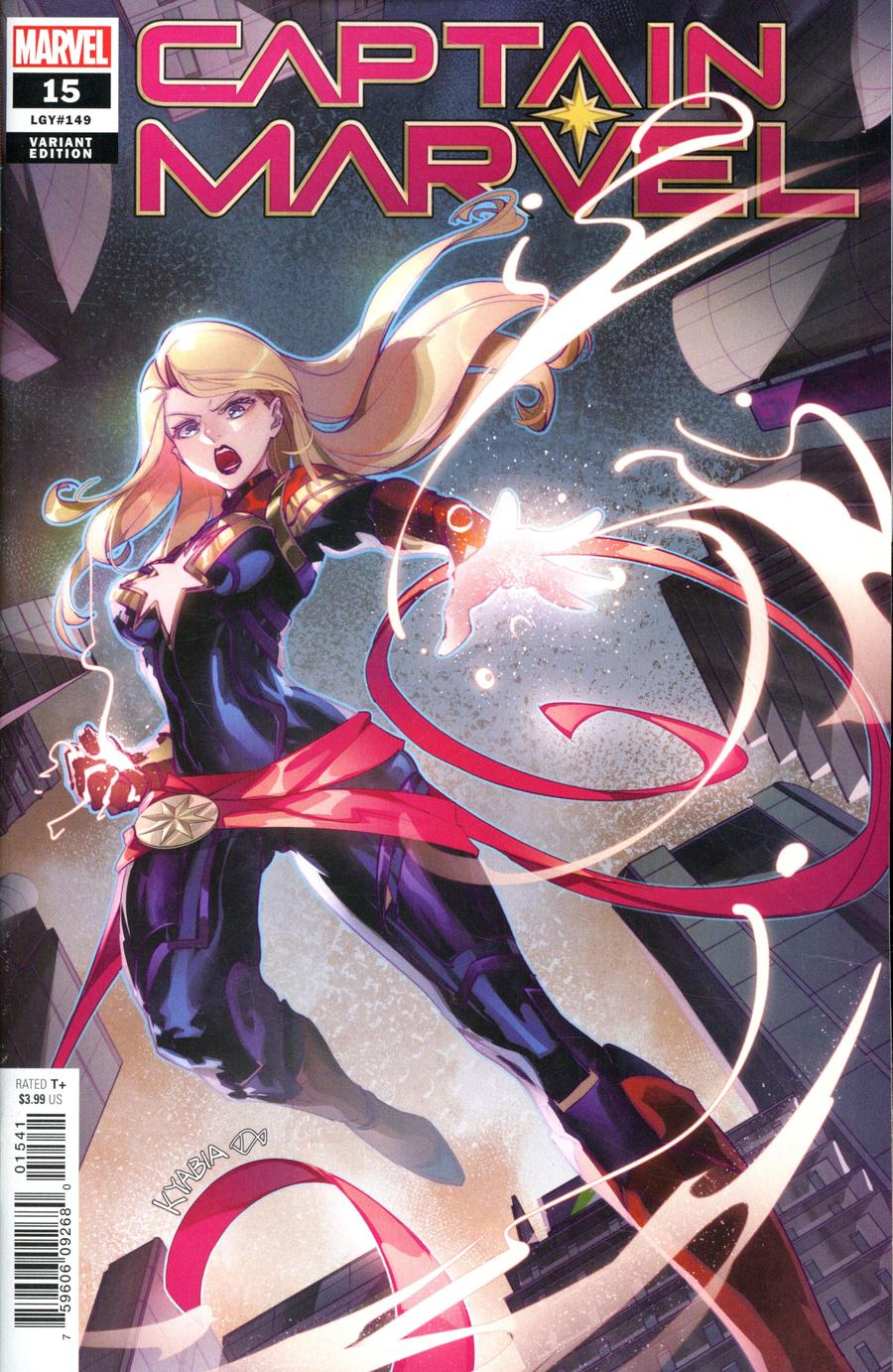 Captain Marvel Vol 9 #15 Cover C Variant Zili Yu Chinese New Year Cover