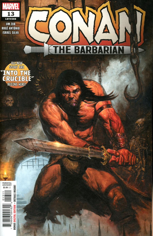 Conan The Barbarian Vol 4 #13 Cover A Regular EM Gist Cover