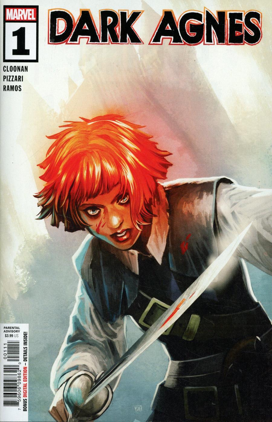 Robert E Howards Dark Agnes #1 Cover A Regular Stephanie Hans Cover