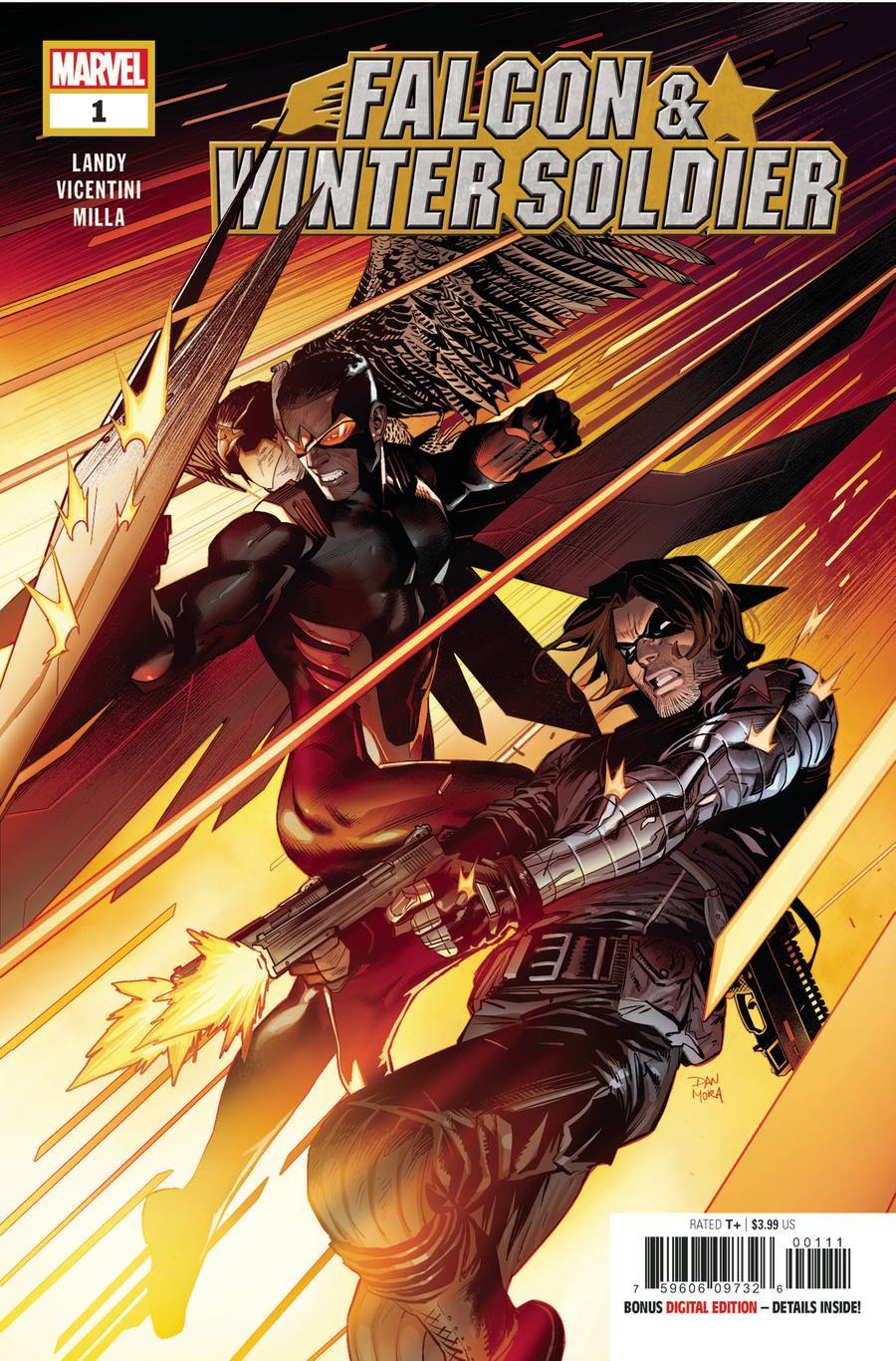 Falcon & Winter Soldier #1 Cover A Regular Dan Mora Cover