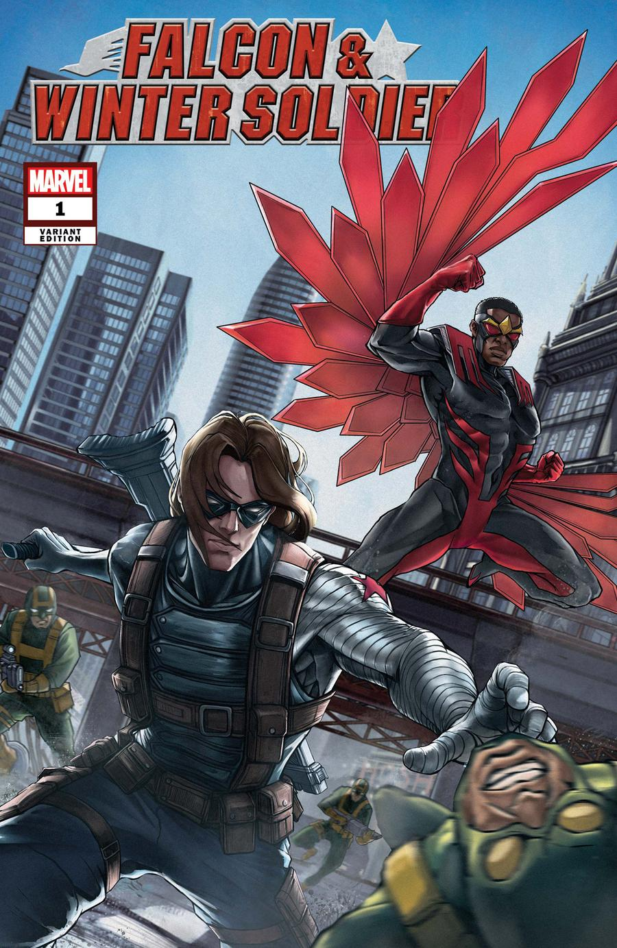 Falcon /& Winter Soldier #2 Of 5