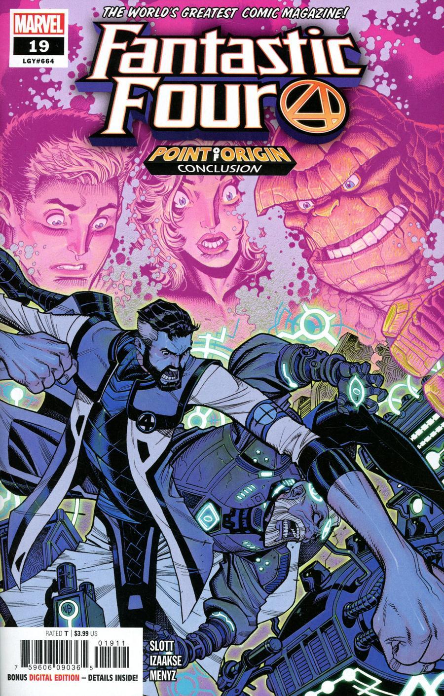 Fantastic Four Vol 6 #19 Cover A Regular Nick Bradshaw Cover