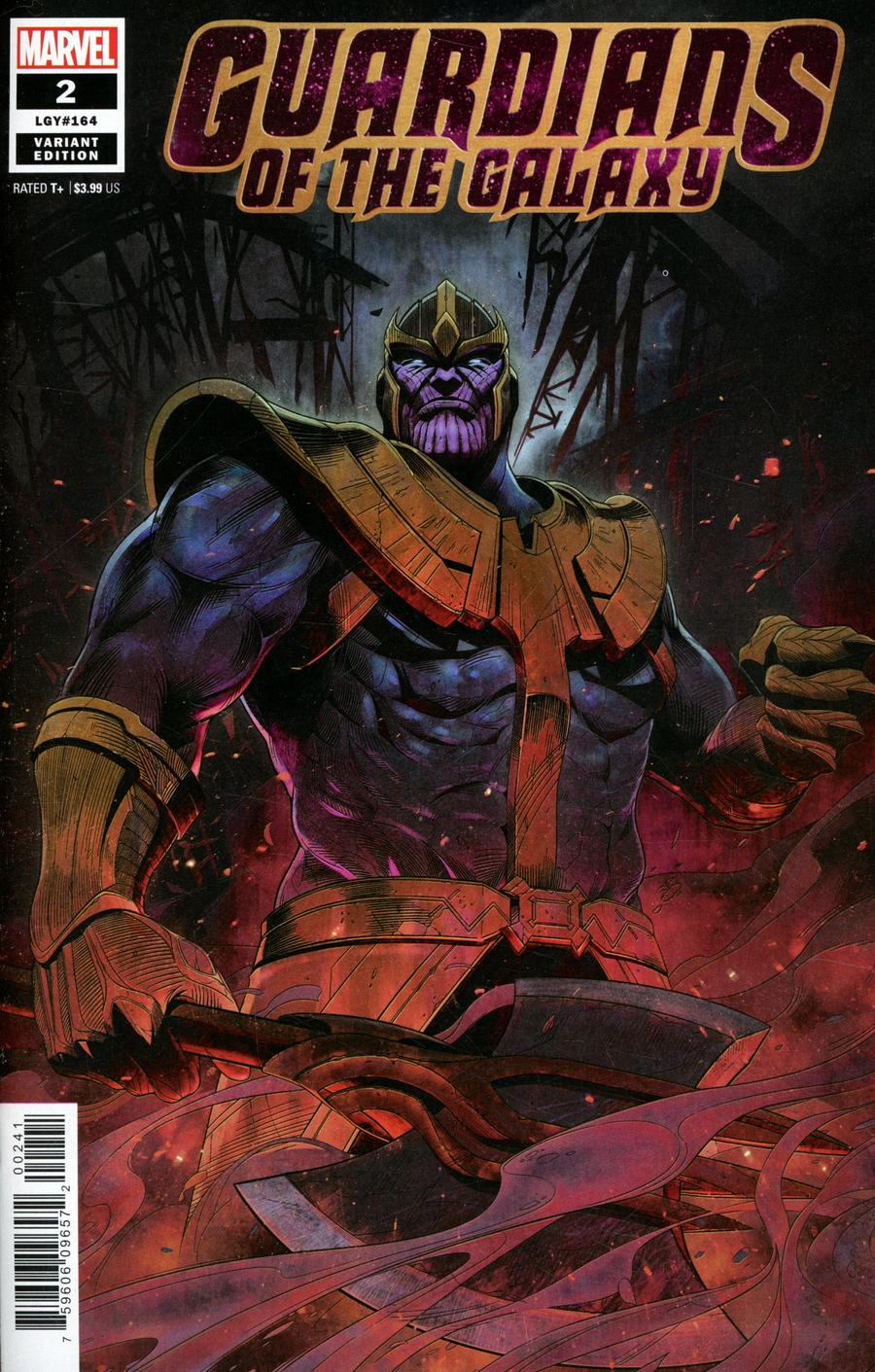 Guardians Of The Galaxy Vol 6 #2 Cover C Variant Yuze Wu Chinese New Year Cover