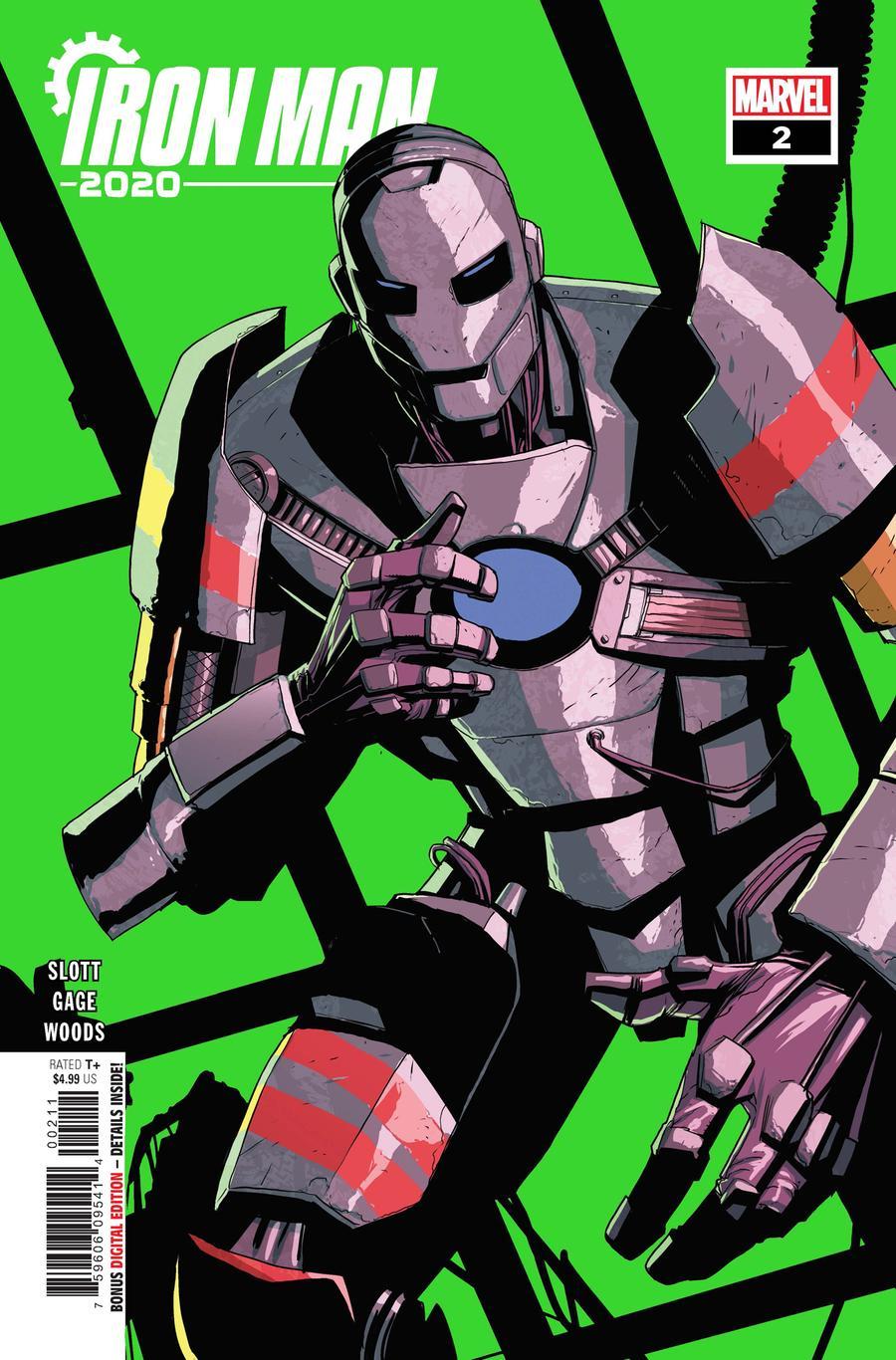 Iron Man 2020 #2 Cover A Regular Mike Del Mundo Cover
