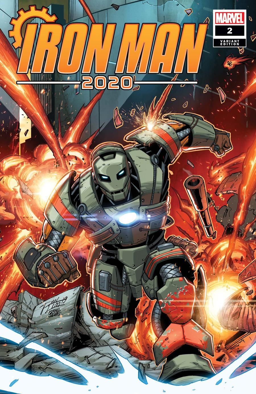 Iron Man 2020 #2 Cover C Variant Ron Lim Cover