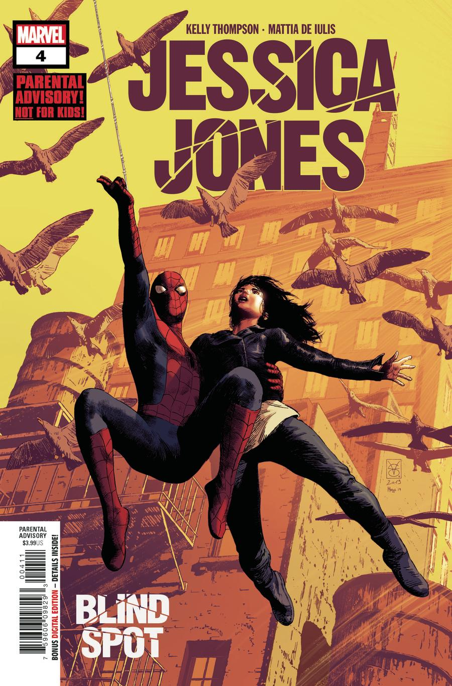 Jessica Jones Blind Spot #4 Cover A Regular Valerio Giangiordano Cover