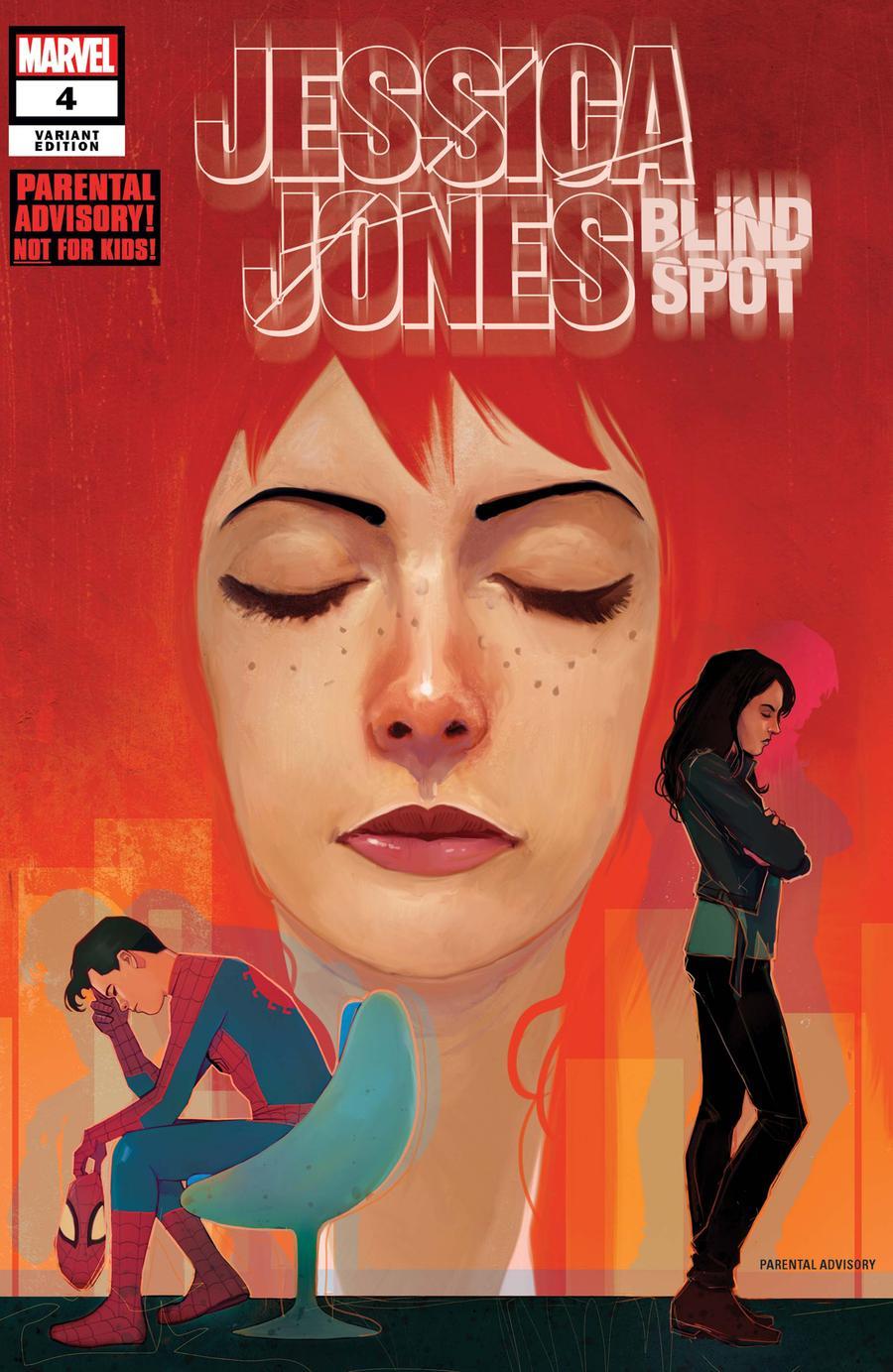 Jessica Jones Blind Spot #4 Cover B Variant Martin Simmonds Cover
