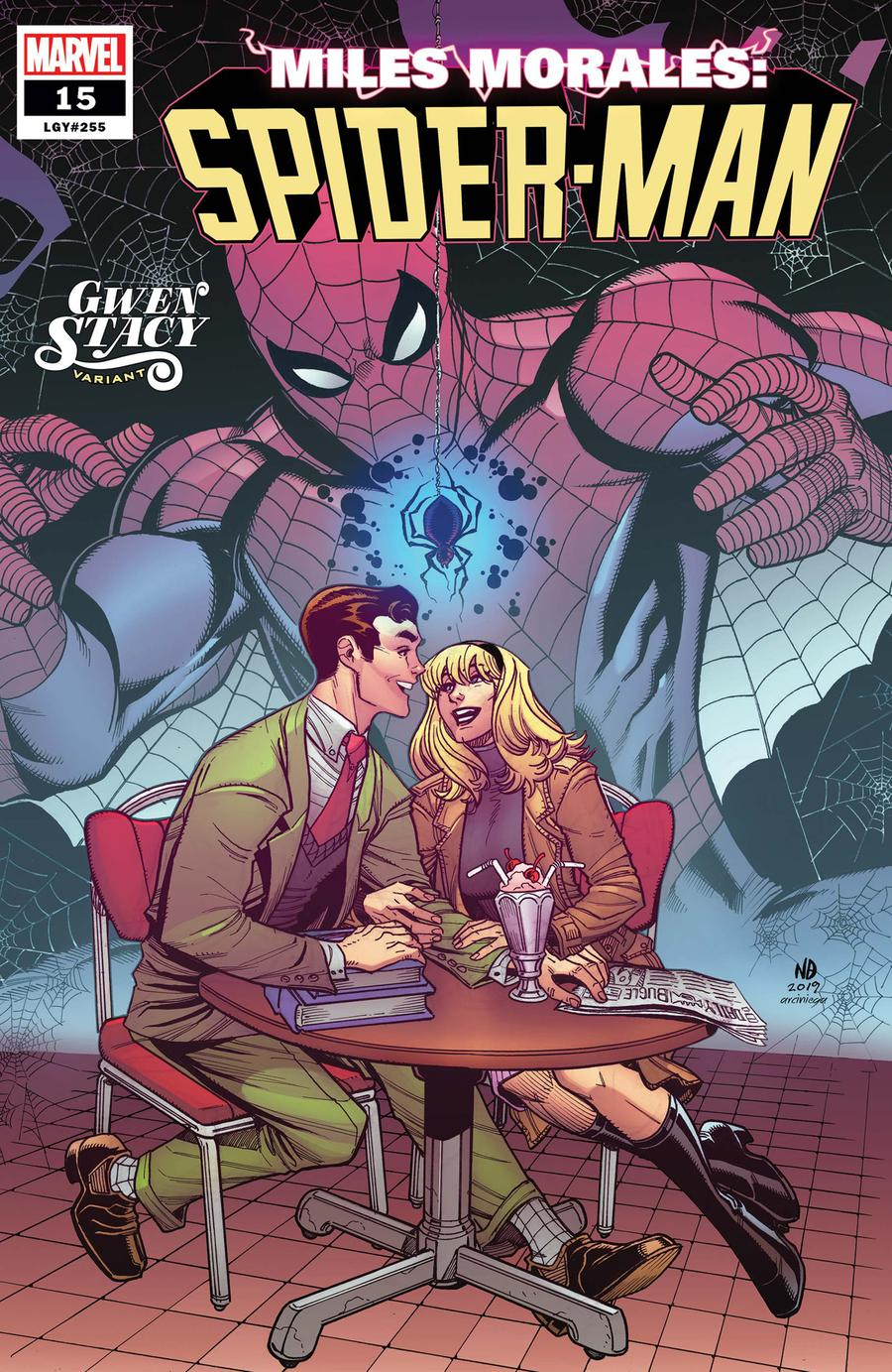 Miles Morales Spider-Man #15 Cover B Variant Nick Bradshaw Gwen Stacy Cover