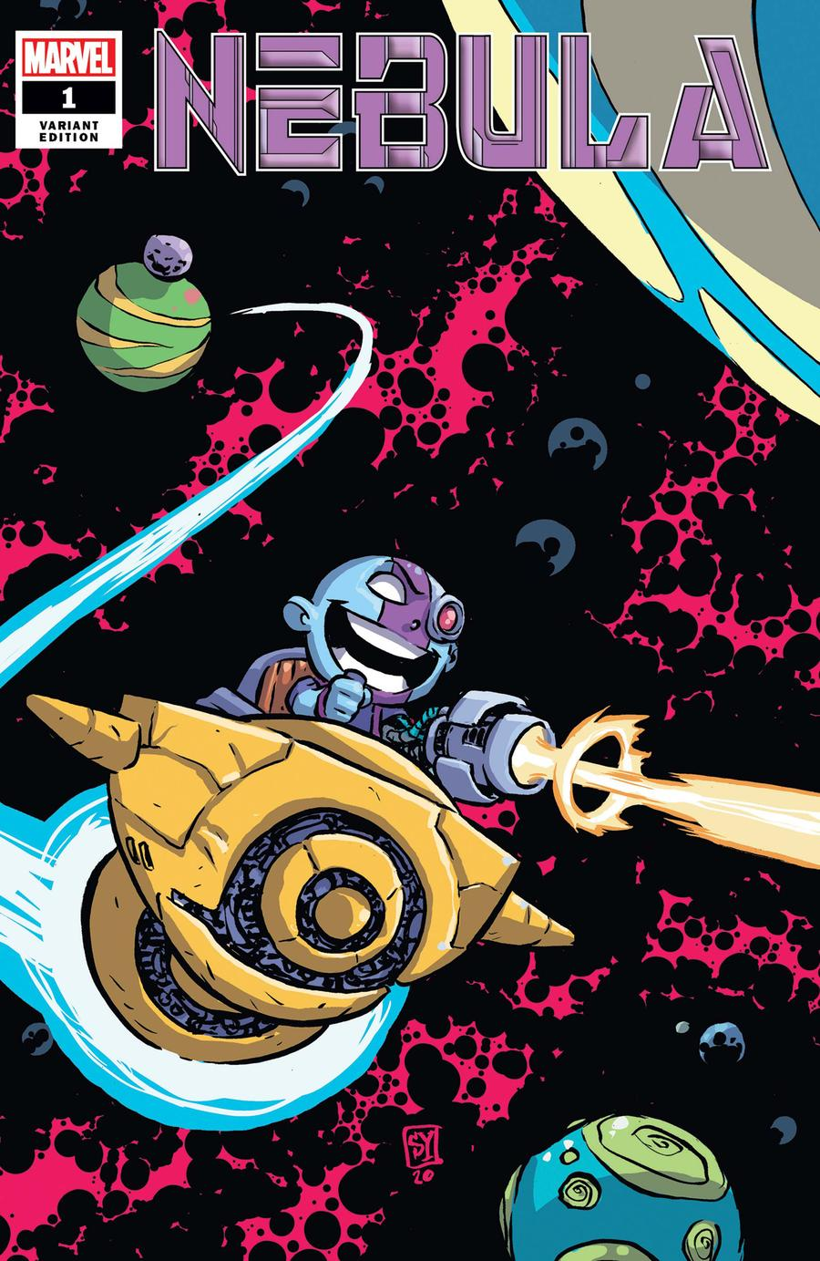 Nebula #1 Cover B Variant Skottie Young Cover