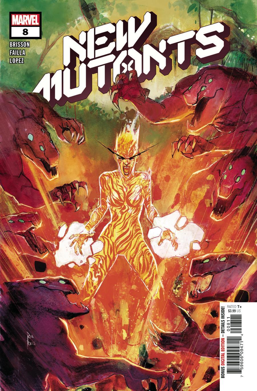 New Mutants Vol 4 #8 (Dawn Of X Tie-In)