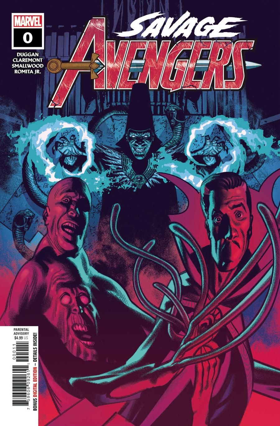 Savage Avengers #0 Cover A Regular Greg Smallwood Cover
