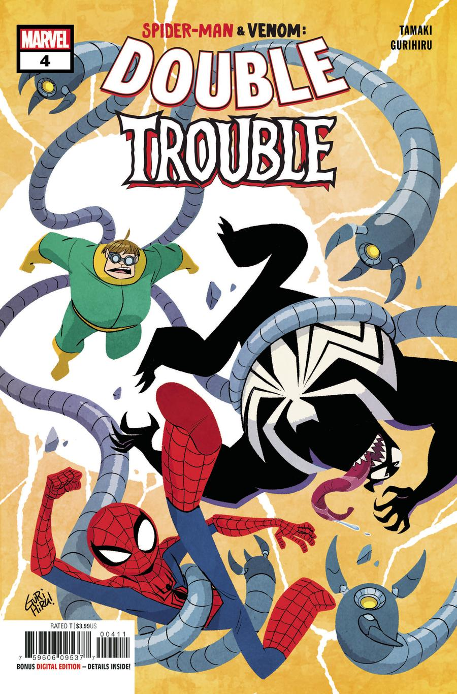 Spider-Man Venom Double Trouble #4
