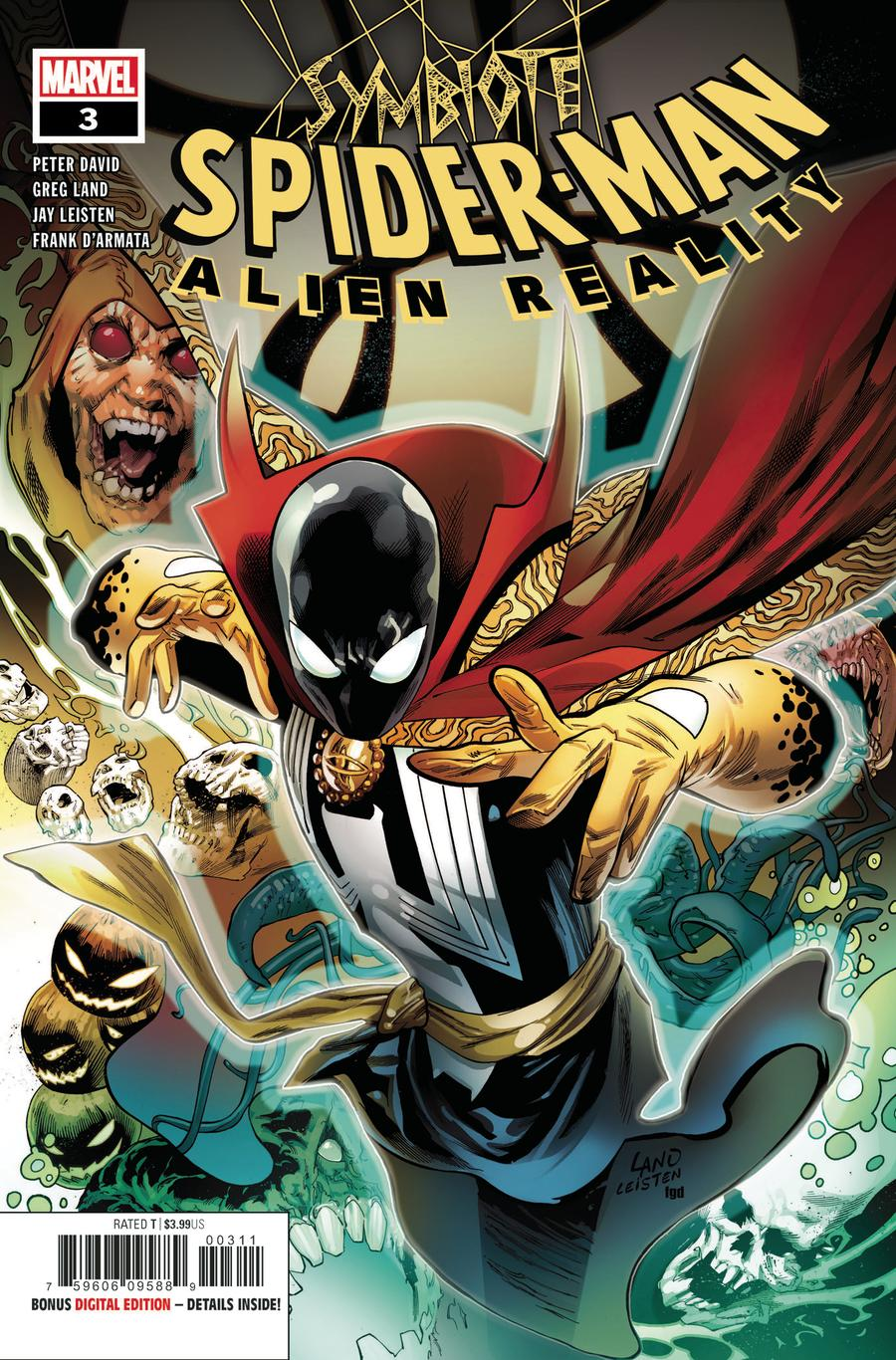 Symbiote Spider-Man Alien Reality #3 Cover A Regular Greg Land Cover