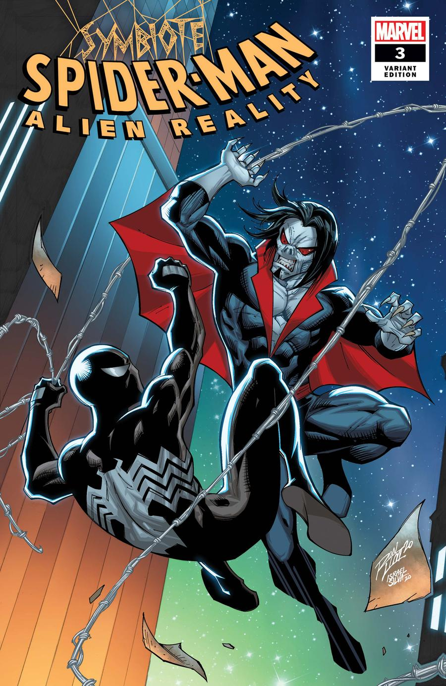 Symbiote Spider-Man Alien Reality #3 Cover D Variant Ron Lim Cover
