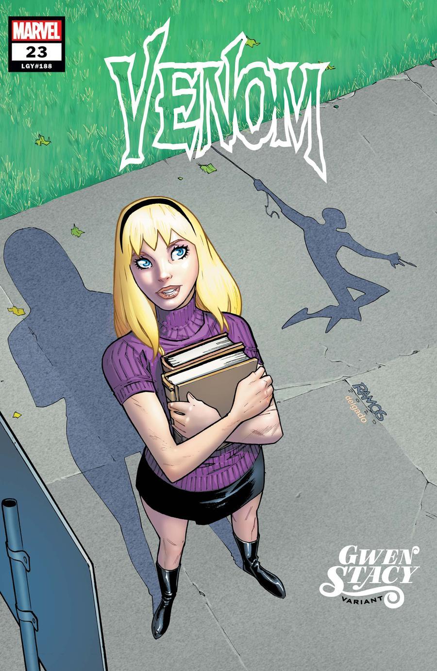 Venom Vol 4 #23 Cover B Variant Humberto Ramos Gwen Stacy Cover