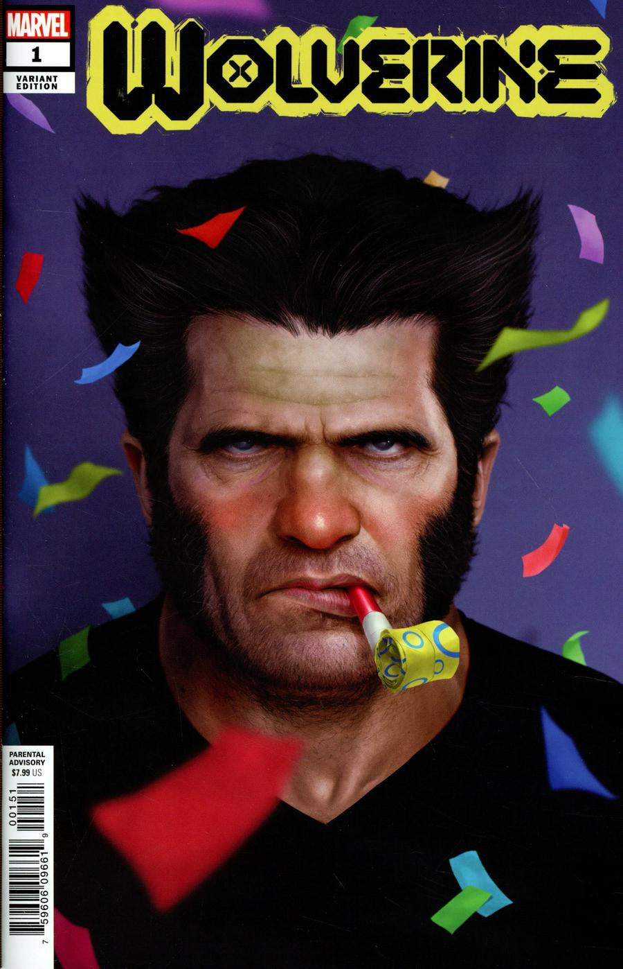 Wolverine Vol 7 #1 Cover E Variant Rahzzah Party Cover (Dawn Of X Tie-In)