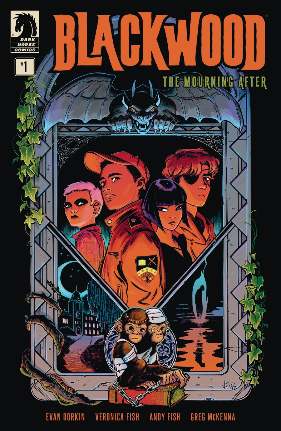 Blackwood Mourning After #1 Cover A Regular Veronica Fish Cover