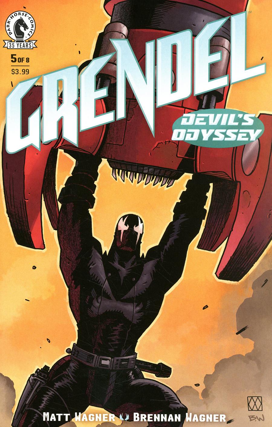 Grendel Devils Odyssey #5 Cover A Regular Matt Wagner Cover