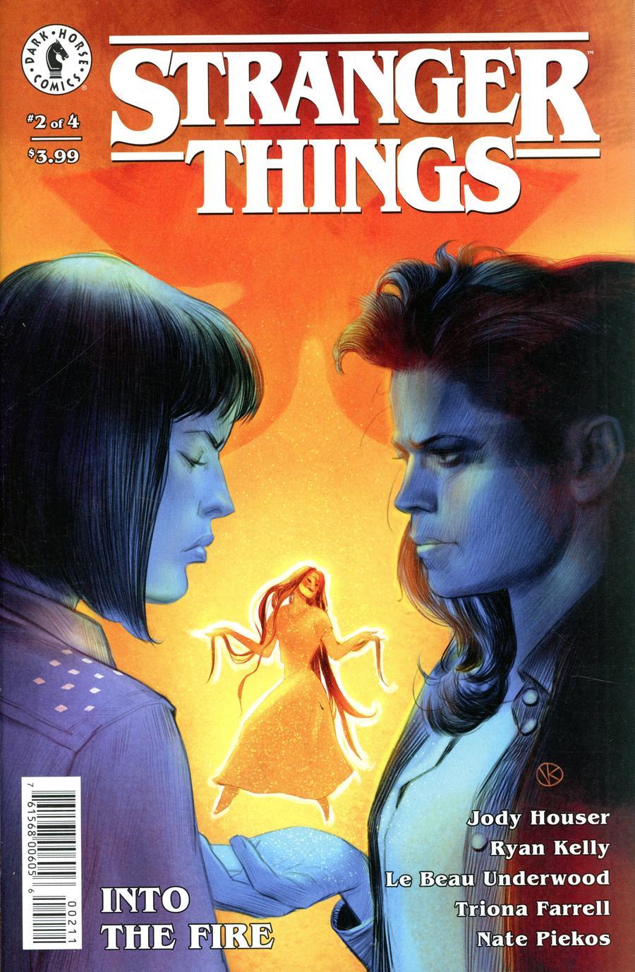 Stranger Things Into The Fire #2 Cover A Regular Viktor Kalvachev Cover