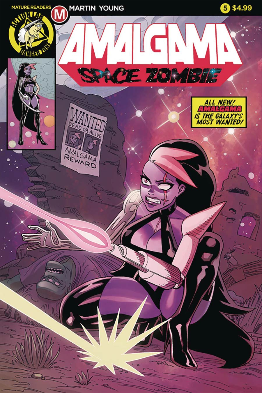 Amalgama Space Zombie #5 Cover A Regular Winston Young Cover