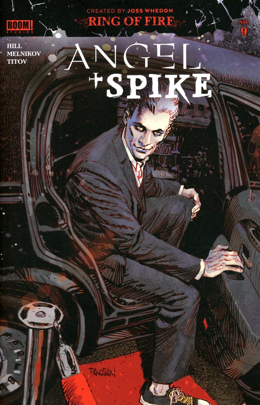 Angel & Spike #9 Cover A Regular Dan Panosian Cover