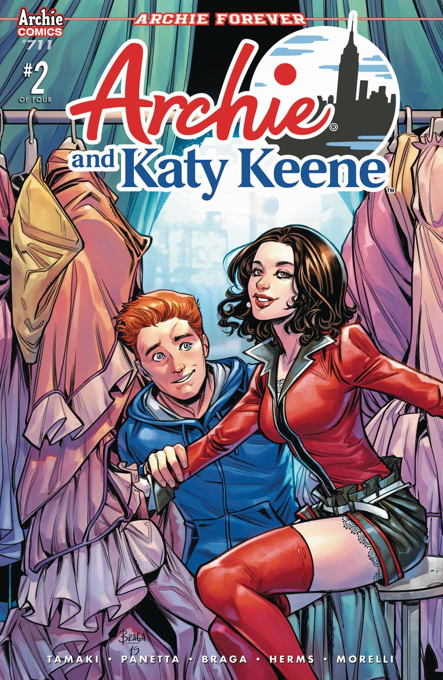 Archie Vol 2 #711 Archie And Katy Keene Part 2 Cover A Regular Laura Braga Cover