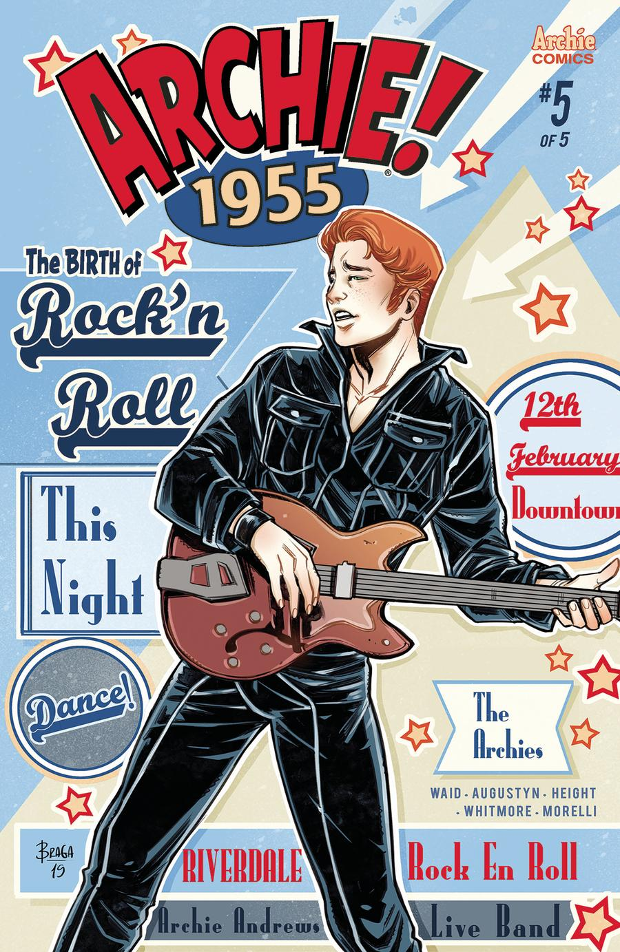 Archie 1955 #5 Cover A Regular Laura Braga Cover