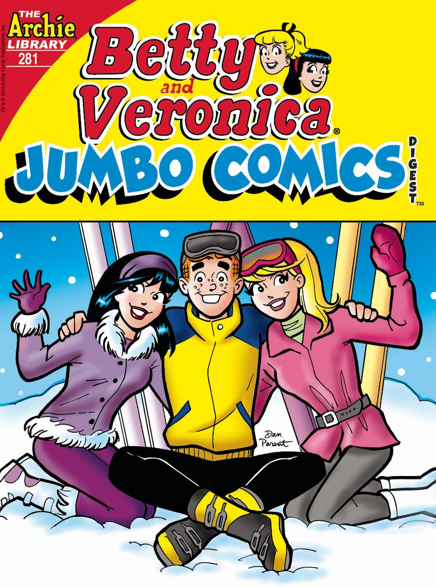 Betty & Veronica Jumbo Comics Digest #281