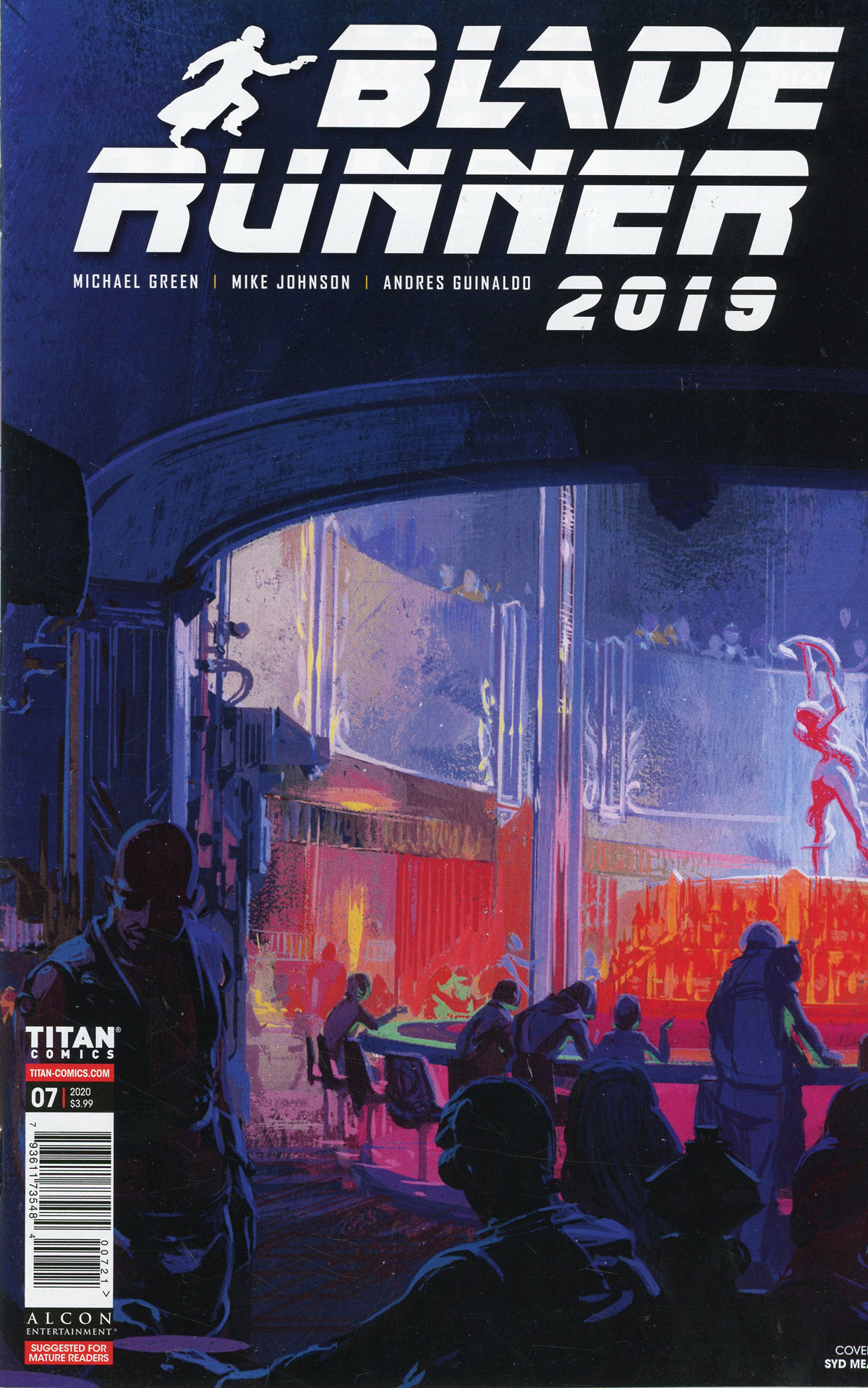 Blade Runner 2019 #7 Cover B Variant Syd Mead Cover