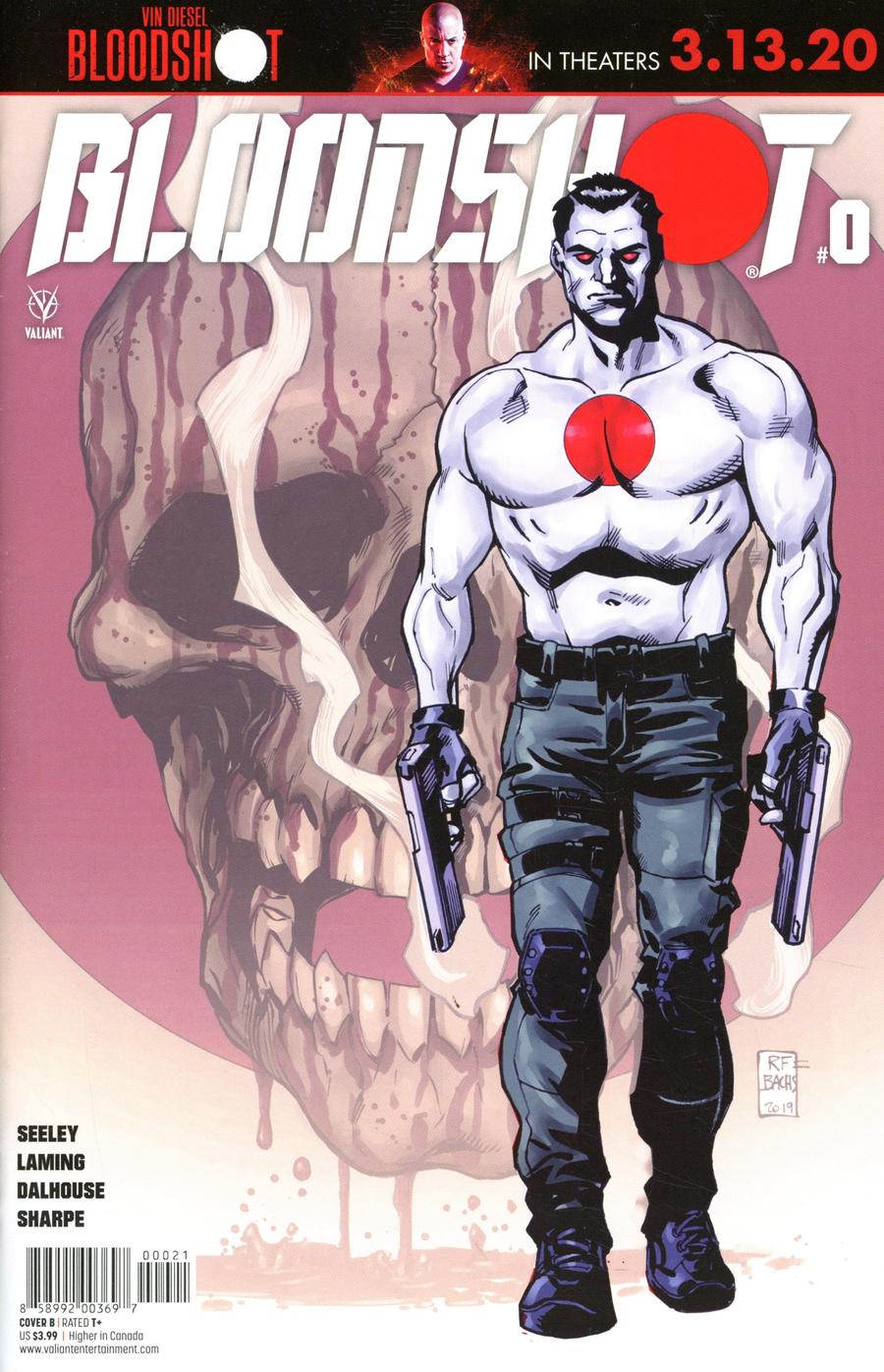Bloodshot Vol 4 #0 Cover B Variant Ramon Bachs Cover