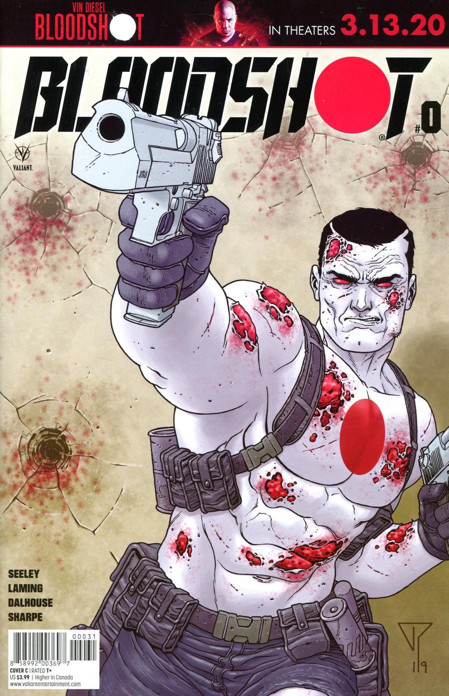 Bloodshot Vol 4 #0 Cover C Variant Francis Portela Cover