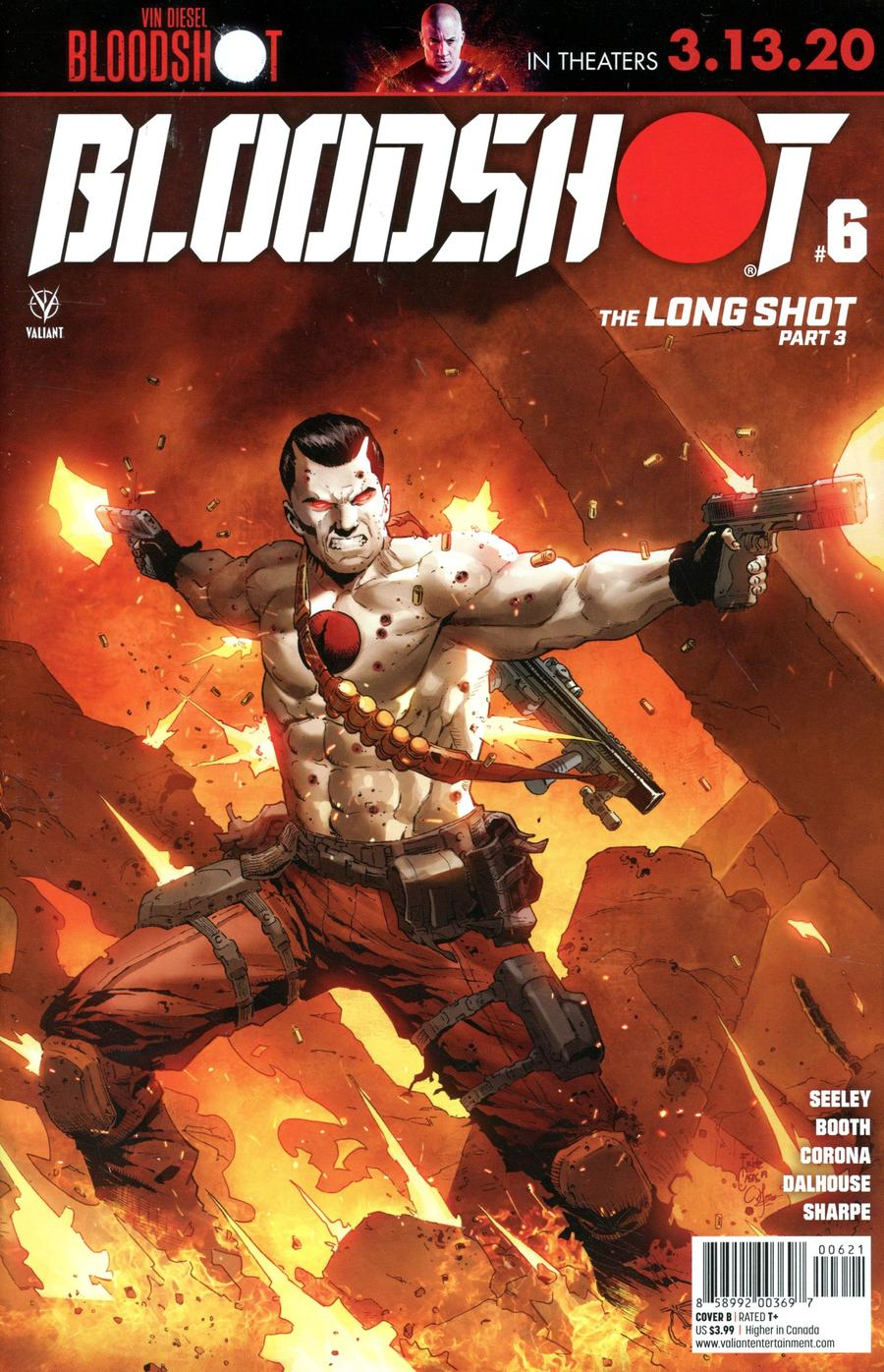 Bloodshot Vol 4 #6 Cover B Variant Fritz Casas Cover
