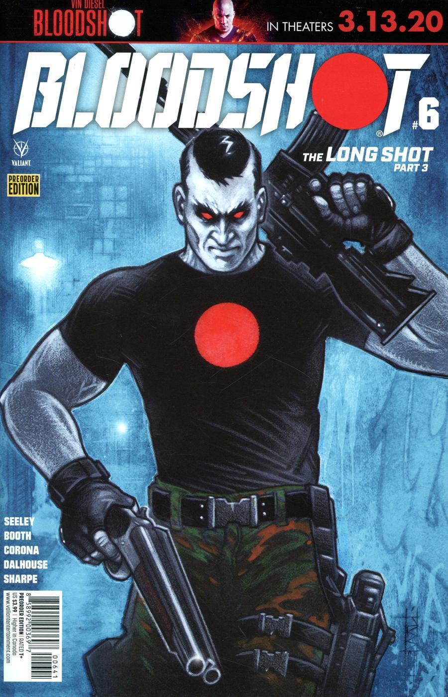 Bloodshot Vol 4 #6 Cover D Variant Pre-Order Edition