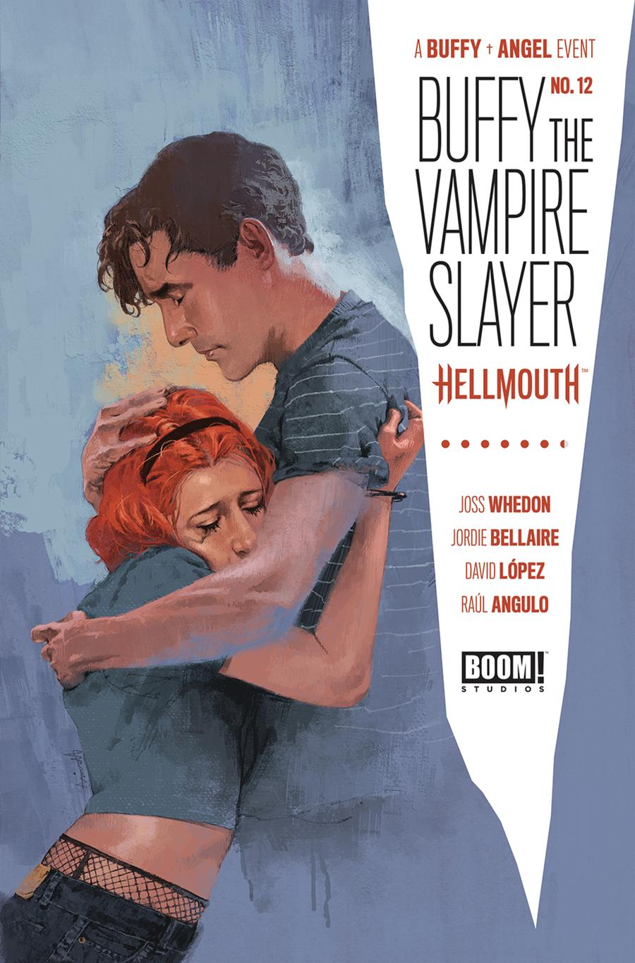 Buffy The Vampire Slayer Vol 2 #12 Cover A Regular Marc Aspinall Cover (Hellmouth Tie-In)