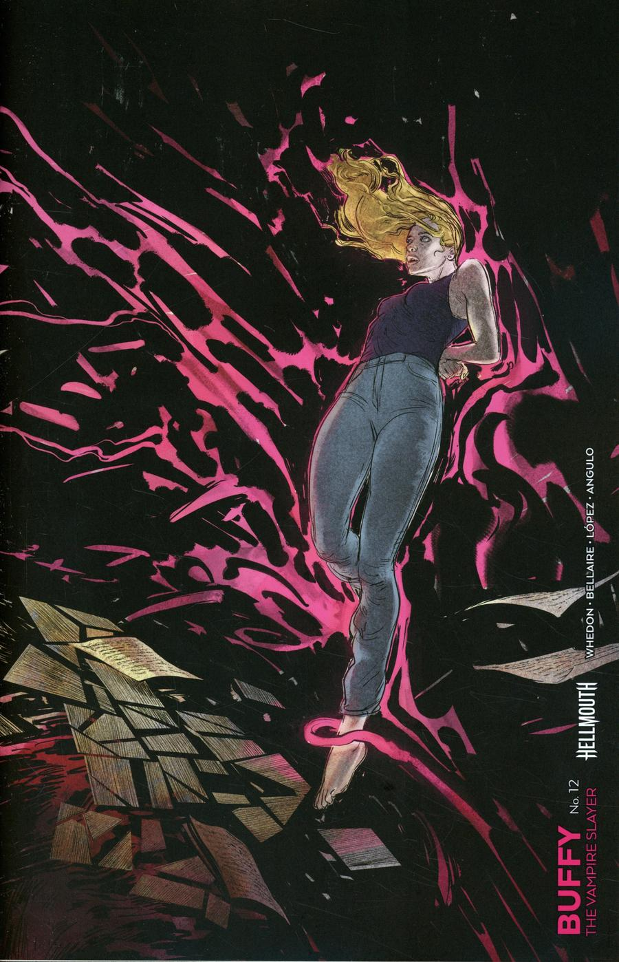 Buffy The Vampire Slayer Vol 2 #12 Cover C Variant Vanesa R Del Rey Connecting Cover (Hellmouth Tie-In)