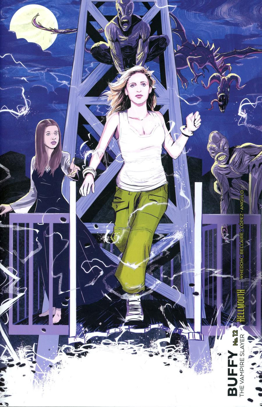 Buffy The Vampire Slayer Vol 2 #12 Cover D Variant Ryan Inzana Preorder Cover (Hellmouth Tie-In)