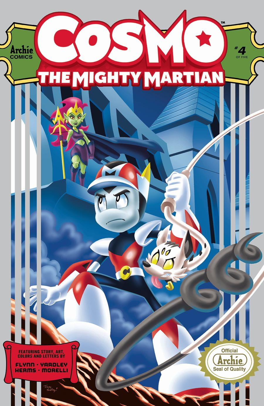 Cosmo The Mighty Martian #4 Cover A Regular Tracy Yardley Cover