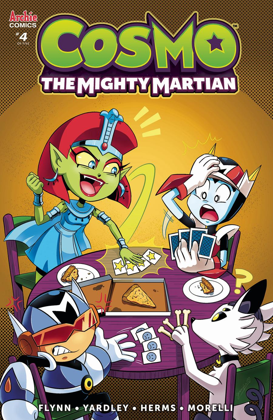 Cosmo The Mighty Martian #4 Cover C Variant Jennifer Hernandez Cover
