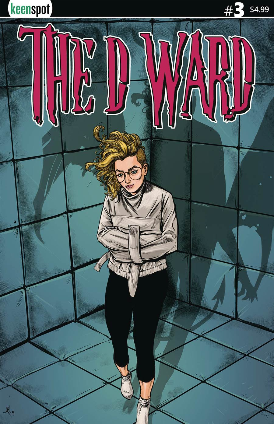 D Ward #3 Cover A Regular Alex Smith Cover