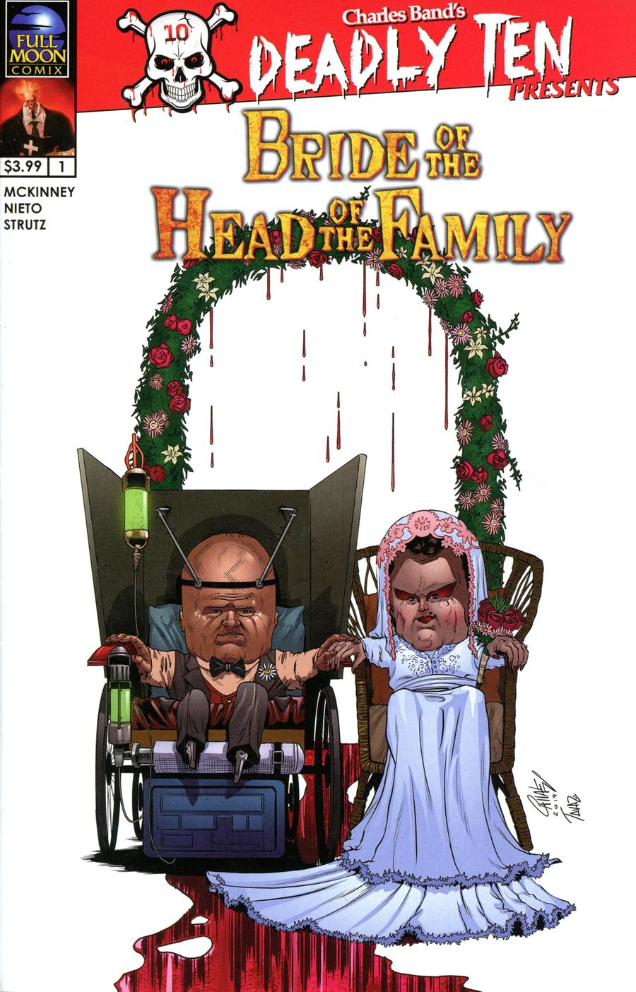 Deadly Ten Presents #6 Bride Of The Head Of The Family Cover A Regular Ismael Canales Cover
